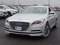 AWD! Nav! This great 2017 Genesis G80 is the rare