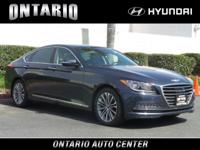 Scores 28 Highway MPG and 18 City MPG! This Genesis G80