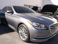 This 2017 Genesis G80 3.8 Sedan 4D features a V6 3.8