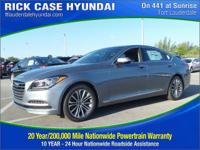 2017 Genesis G80 3.8  in Gray. Come to the experts!