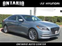 Boasts 28 Highway MPG and 18 City MPG! This Genesis G80
