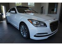 2017 White Genesis G80 3.8 8-Speed Automatic with