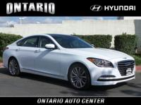 Scores 23 Highway MPG and 15 City MPG! This Genesis G80