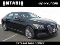 Boasts 23 Highway MPG and 15 City MPG! This Genesis G80
