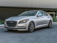 2017 Genesis Silver G80 5.0L V8 DGI DOHC 5.0 15/23mpg