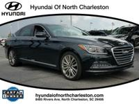 CARFAX One-Owner. Clean CARFAX. Chrome 2017 Genesis G80
