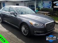 CARFAX One-Owner. Clean CARFAX. 2017 Genesis G90 3.3T
