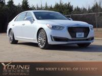 How inviting is this beautiful 2017 Genesis G90?