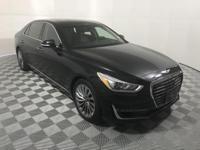 CARFAX One-Owner. Clean CARFAX. Black 2017 Genesis G90