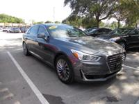 This 2017 Genesis G90 5.0 in Gray features: Clean