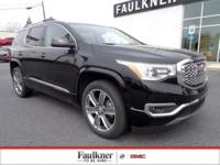 Ebony Twilight Denali, 3.6L V6 AWD, GMC Certified,