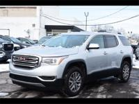 CARFAX One-Owner. Clean CARFAX. Silver 2017 GMC Acadia