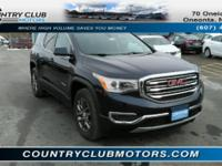 This 2017 GMC Acadia is loaded! With features like