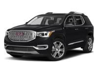 Options:  2017 Gmc Acadia Denali|G1w/|V6 3.6L