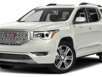 CERTIFIED PRE-OWNED 2017 GMC ACADIA DENALI**LOW