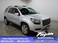 Quicksilver Metallic 2017 GMC Acadia Limited Limited
