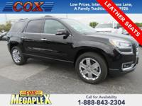 New Price! Certified. This 2017 GMC Acadia Limited