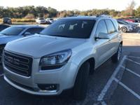This 2017 GMC Acadia Limited in Sparkling Silver