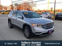 This outstanding example of a 2017 GMC Acadia SLE is