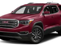 Crimson Red Tintcoat 2017 GMC Acadia SLT-1 AWD 6-Speed