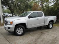 This 2017 GMC Canyon 2dr 2WD Ext Cab 128.3 features a