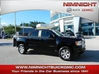 Boasts 25 Highway MPG and 18 City MPG! This GMC Canyon