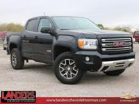 CARFAX One-Owner. Clean CARFAX. Onyx Black 2017 GMC