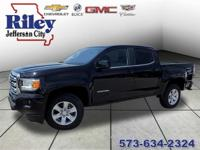 Riley Red Tag Sale! Onyx Black 2017 GMC Canyon SLE1 4WD
