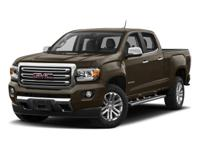 Certified. 2017 GMC Canyon SLT 4WD 8-Speed Automatic V6
