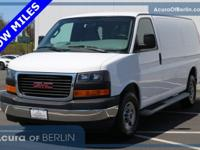 2017 GMC Savana 2500 Work Van Summit White New Price!