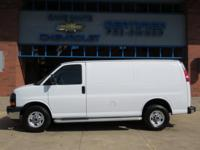 2017 GMC Savana 2500 Summit White Work Van RWD Vortec