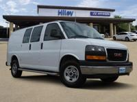 Summit White used 2017 GMC Savana 2500 Work Van, RWD,