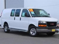 Only 11,736 Miles!!! 3/4 Ton!!! 2017 GMC Savana 2500