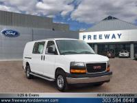 Summit White 2017 GMC Savana 2500 Work Van RWD 6-Speed