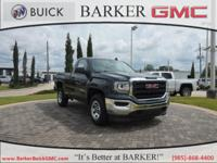 2017 GMC Sierra 1500 6-Speed Automatic, Dark Ash Seats