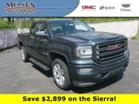 The GMC Sierra 1500 expertly crafted body forms a