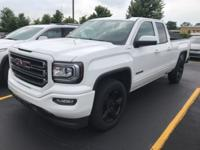 2017 GMC Sierra Extended Cab, 4WD, GM Certified,
