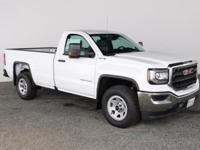 Summit White 2017 GMC Sierra 1500 Regular Cab 4WD