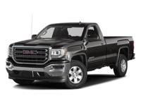 2017 GMC Sierra 1500 RWD 6-Speed Automatic Electronic