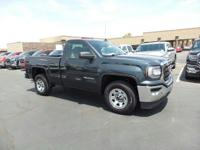 Boasts 23 Highway MPG and 16 City MPG! This GMC Sierra