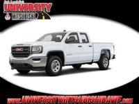 **HAGGLE FREE PRICING** Summit White 2017 GMC Sierra