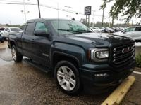 Certified. Onyx Black 2017 GMC Sierra 1500 Elevation