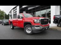 Cardinal Red 2017 GMC Sierra 1500 4WD 6-Speed Automatic