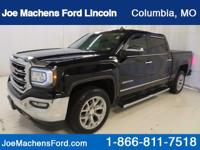 Sierra 1500 SLT, 4D Crew Cab, Automatic, 4WD, and