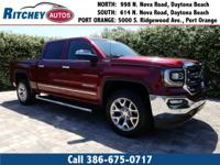 CERTIFIED PRE-OWNED 2017 GMC SIERRA 1500 SLT 4WD CREW