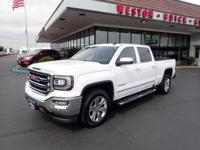 This 2017 GMC Sierra 1500 SLT features a backup camera,