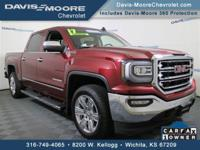 From home to the job site, this 1-owner 2017 GMC Sierra