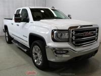 2017 GMC Sierra 1500 SLT Summit White CARFAX One-Owner.