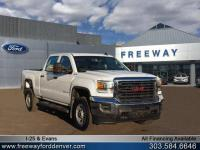 Summit White 2017 GMC Sierra 2500HD 4WD 6-Speed