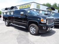 This black 2017 GMC Sierra 3500HD SRW Denali has 4WD,